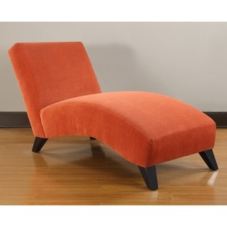 Bella Paprika Chaise  sc 1 st  Pinterest : orange chaise lounge - Sectionals, Sofas & Couches