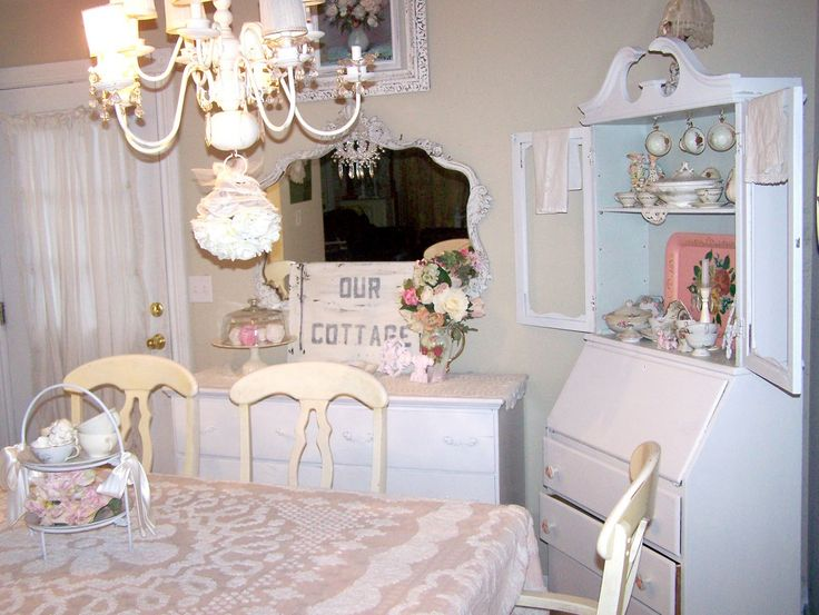 shabby cottage | Shabby Chic Cottage Dining Room!