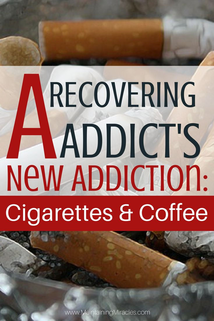 One you quit using drugs, you replace your addiction with cigarettes and coffee. Why? How do you stop? How bad is it for you? Here's what I am doing.