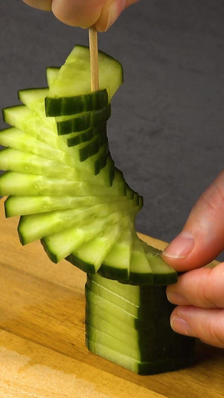 Obst und Gemüse schnitzen