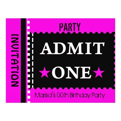 Best 25+ Pink tickets ideas on Pinterest Raffle tickets, Diaper - admit one template