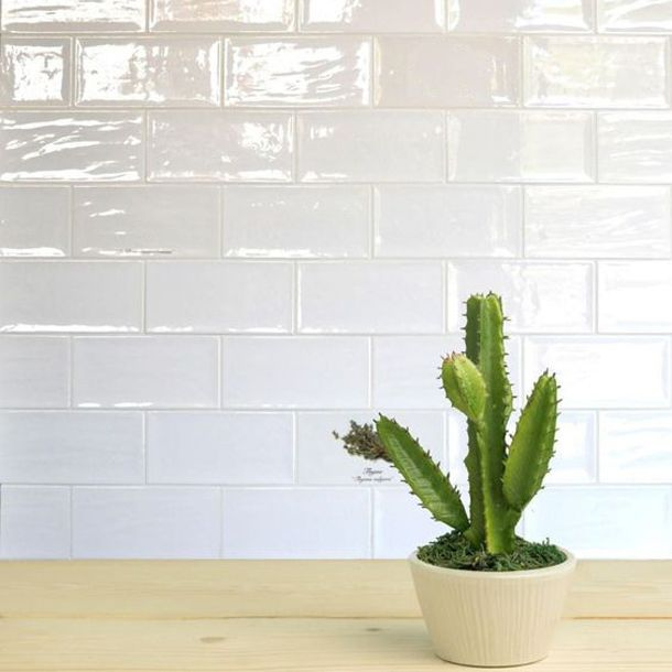 10x20cm Artisan White Tile By Fabresa Artisan Tiles Bathroom Artisan Tiles Wall Tiles