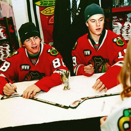 Kane and Toews-look at how young they are!