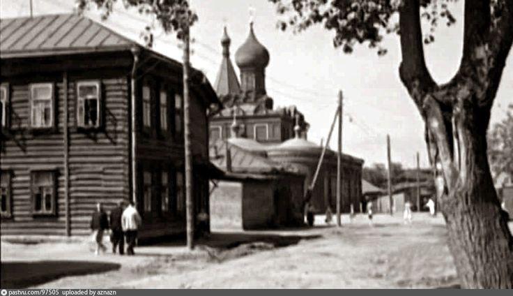 Марьина Роща, Церковь Нечаянной Радости | История Москвы в картинках % | Moscow history in pictures