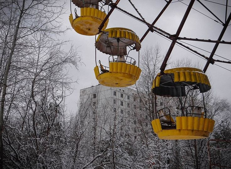 Inside Chernobyl's No-Go Zone 30 Years After The Nuclear Apcalypse