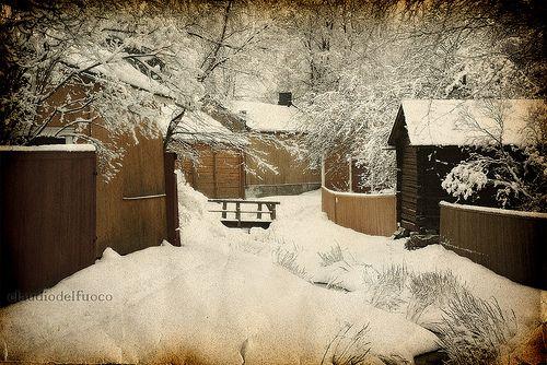 Old Rauma in winter