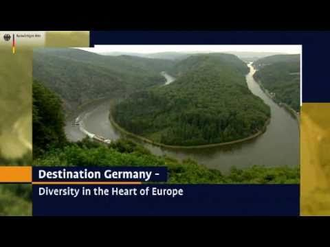 10 minute video about German geography and landmarks