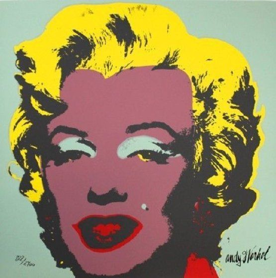 Marilyn Monroe, Set of 10 Lithographs 1967 by Andy Warhol
