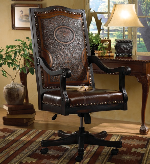 Elk Executive Chair   Beautiful For A Home Office Or Study