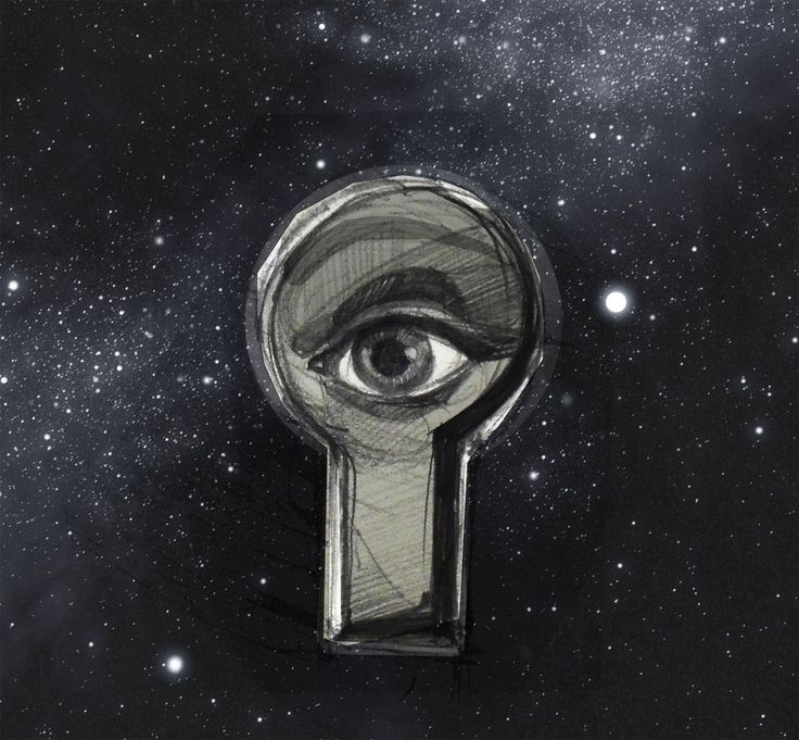 #illustration #graphics #space #eye #mystery #enigma