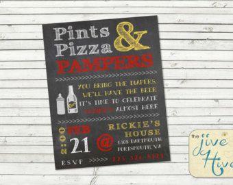 Best 25+ Diaper party invitations ideas on Pinterest | Diaper ...