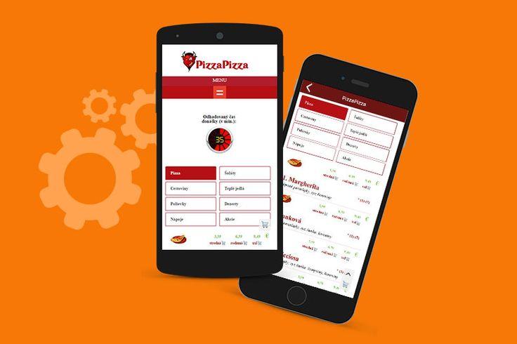 Mobilná aplikácia PizzaPizza / Moderné Webstránky
