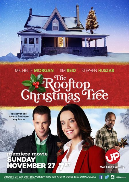 The Rooftop Christmas Tree (2016) Michelle Morgan stars as the lawyer who finds herself involved in the mystery of why a neighbour, Dale Landis (Tim Reid). puts a Christmas Tree on his roof despite his actions leading him to end up in court