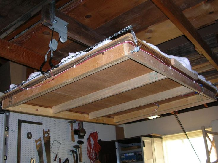 Pulley Systems For Garage Storage, Pulley System For Garage Door