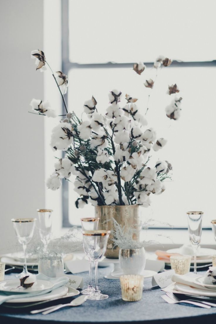 The event planners of Kennedy Creative Events offer inspiration for non-floral centerpieces, all every bit as great as their traditional counterparts.