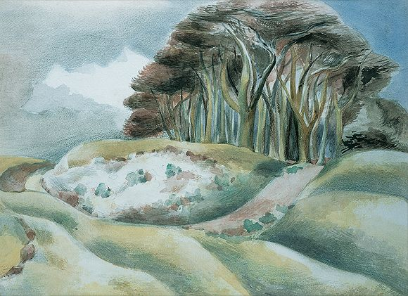 Paul Nash, visionary British artist