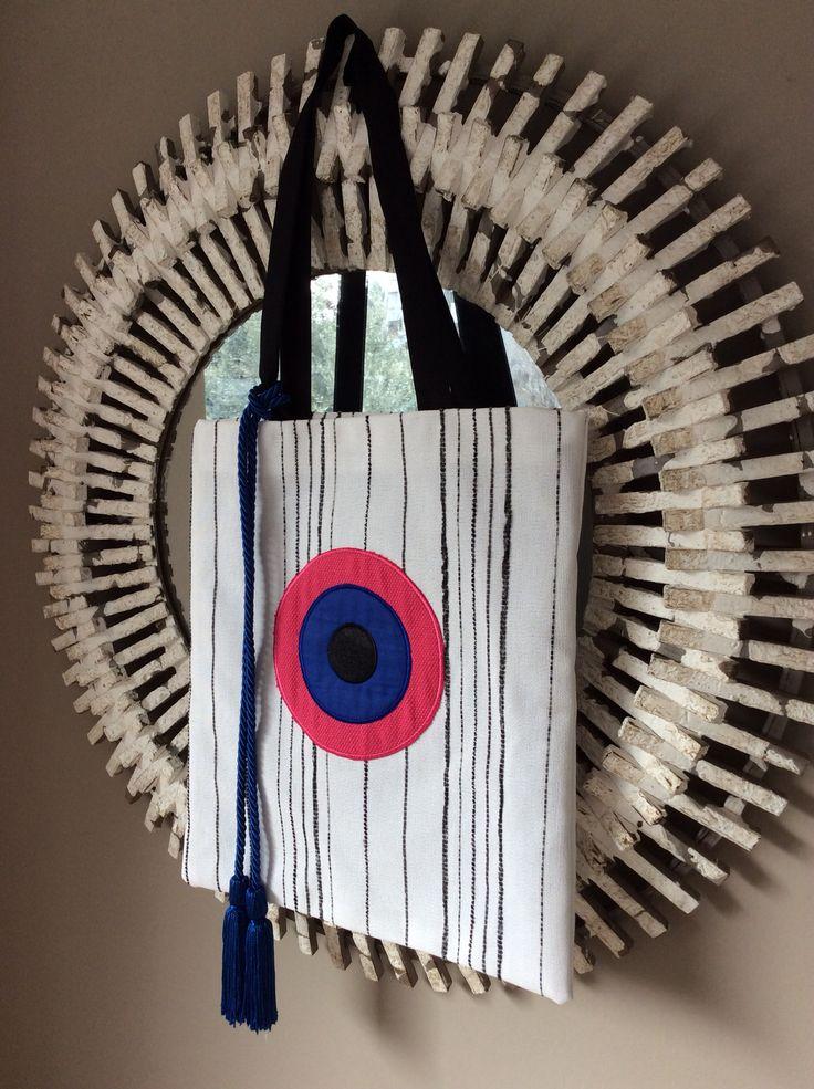 Handmade bag Christina Malle.. Tote bag