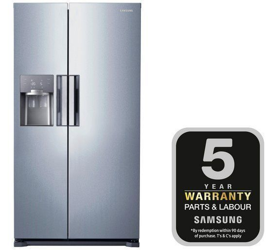£1099 Buy Samsung RS7667FHCSL American Fridge Freezer - Silver at Argos.co.uk - Your Online Shop for Fridge freezers, Large kitchen appliances, Home and garden. #HomeAppliancesFreezers #SamsungHomeAppliances