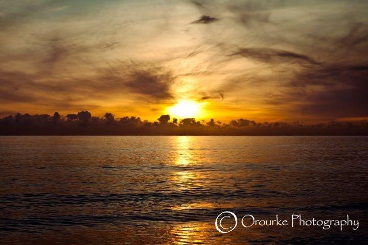 Killiney beach sunrise