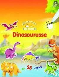 Met hierdie skoonvee-pretboek, kan jou klein dinosourus-geesdriftig ophou om jou kunstalente tot op die uiterste te strek, en self leer hoe om sy gunstelingreuse-reptiel te teken.