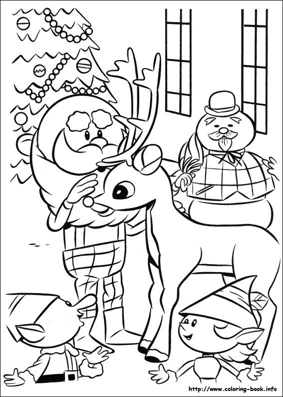 free printable rudolph or frosty coloring pages | 17 Best images about Frosty on Pinterest | Reindeer ...