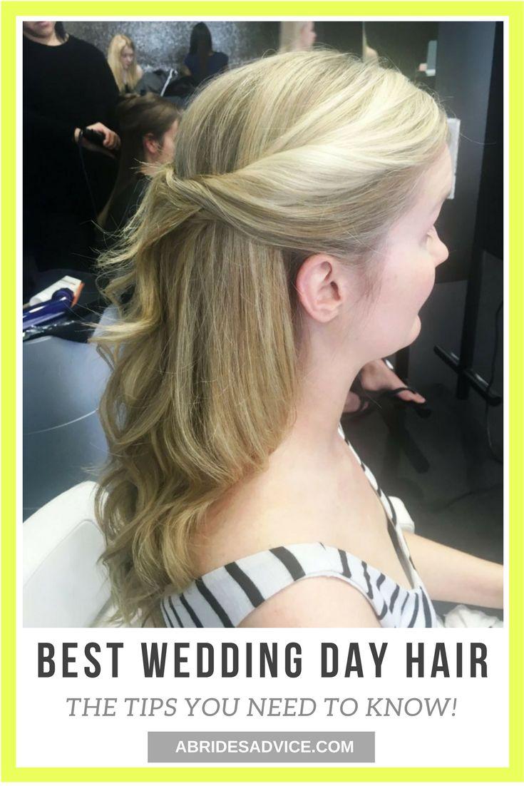 Wedding Day Hair | Bridal Hair | Bridal Hairstyles | Wedding Hair Inspiration | Wedding Hairstyles Blonde