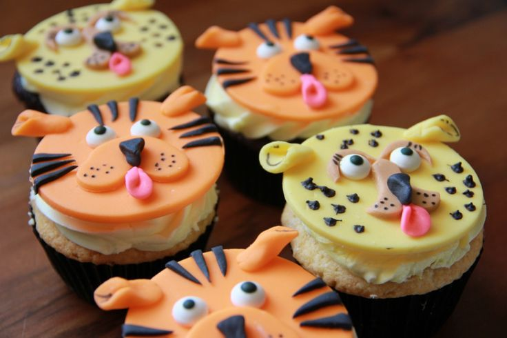 Cheetahs and Tigers and Cupcakes, Oh My!