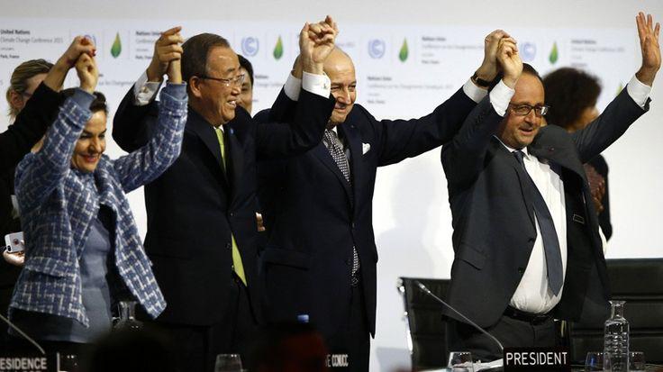 Cumbre clima París: La Cumbre de París cierra un acuerdo histórico contra el cambio climático | Internacional | EL PAÍS