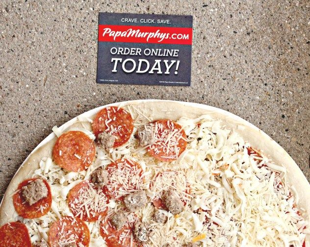 Looking For A Stress Free Dinner Night? Order ONLINE from Papa Murphy's! #Loveat425 #Ad- The Mixed Bag