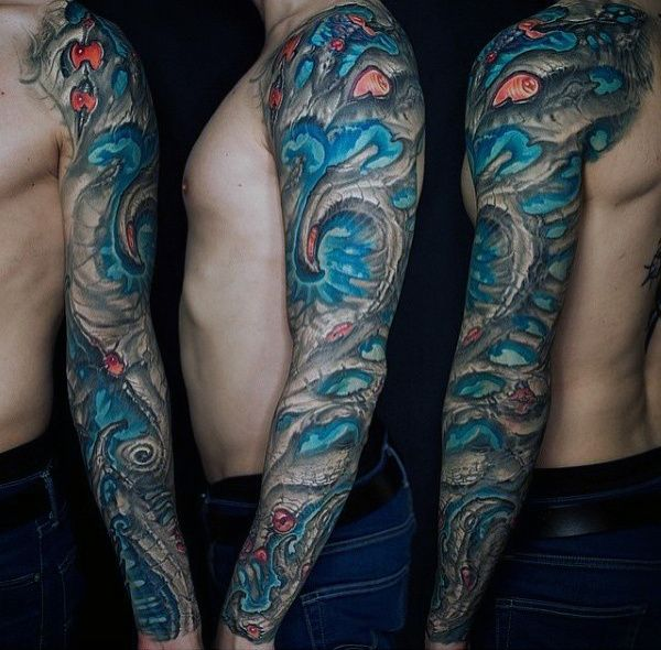 67 best phil images on pinterest sleeve tattoos for men for Organic tattoo ink