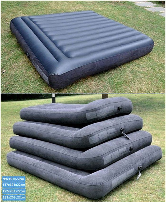 Inflatable Air Mattress, Different Sizes Are Waiting For You.
