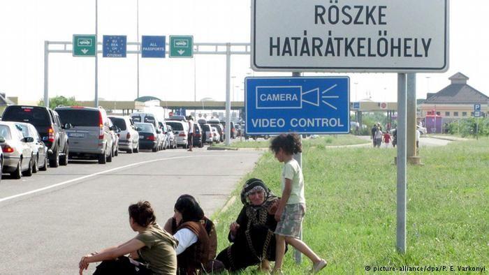 Göçmenlere karşı dikenli tel