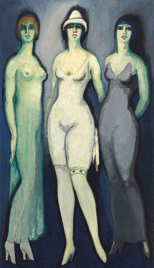 Kees van Dongen (1877-1968): Trois femmes, 1909. I like this one very hot!