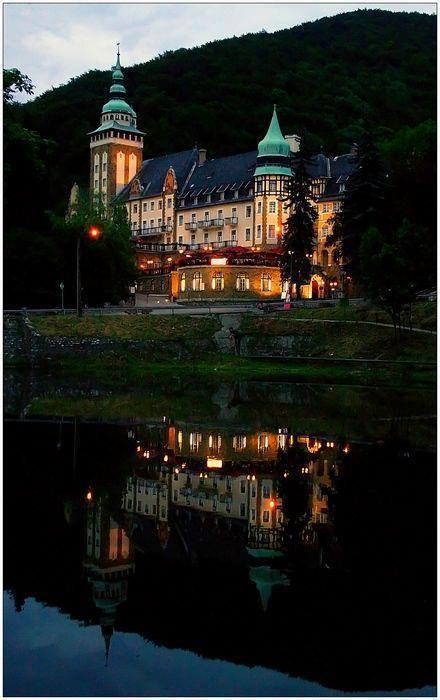 Lillafüred Castle, near Felsőhámor, Bükk Mountains, Hungary, Carpathians