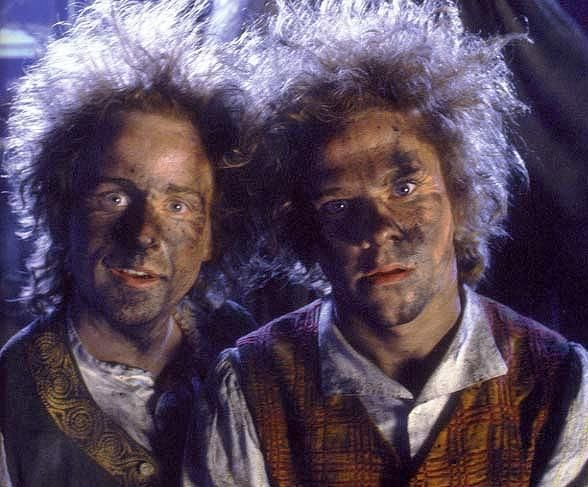 Either one of these guys would make a phenomenal Toot Toot. Billy Boyd and Dominic Monaghan. I'm slightly leaning toward Billy. I have other plans for you Dom.