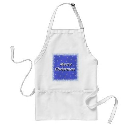 #Frosty Merry Christmas Apron - #Xmas #ChristmasEve Christmas Eve #Christmas #merry #xmas #family #kids #gifts #holidays #Santa