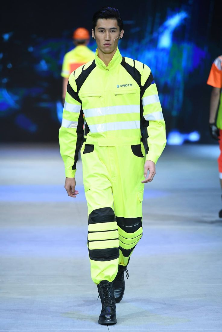 Male Fashion Trends: Safety Protection Design by SWOTO - Mercedes-Benz Fashion Week China
