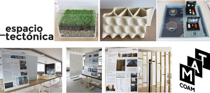 3 de octubre día de consulta en el espacio-tectónica de la MAT COAM | TECTÓNICAblog  El Colegio Oficial de Arquitectos de Madrid (COAM) a través de la Fundación Arquitectura COAM y en colaboración con el Ayuntamiento de Madrid y la Comunidad de Madrid celebrará del 29 de septiembre al 8 de octubre la XIV Semana de la Arquitectura.  La galería de materiales MAT COAM se suma a esta celebración con unas jornadas de puertas abiertas los días 2 3 4 y 5 de octubre con horario de 17:00 a 18:30 h…