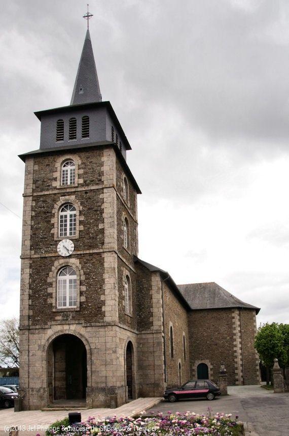 Église St-Méen, à Lanvallay.