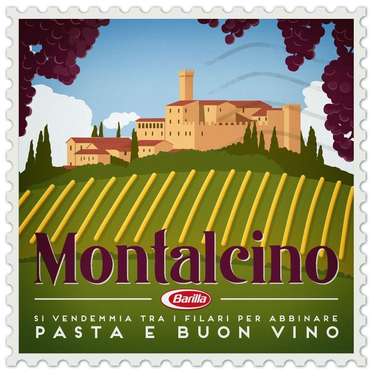 #Montalcino: si vendemmia tra i filari per abbinare #pasta e buon vino #CèPastaPerTe #Barilla