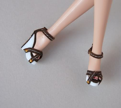 Flat Shoes For Barbie Dolls