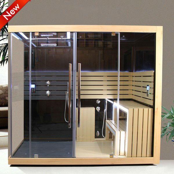 European design Deluxe comfortable infrared sauna for 2 persons sauna $2500~$3900