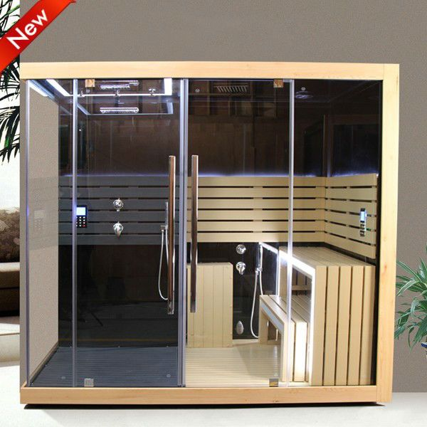 European design Deluxe comfortable infrared sauna for 2 persons sauna $2500~$3900