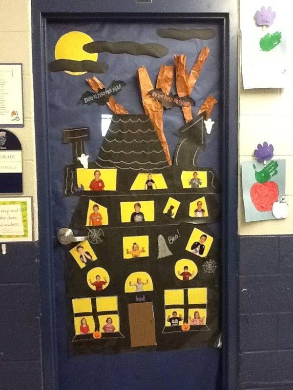 13 best preschool bulletin boards images on pinterest a for 13 door haunted house