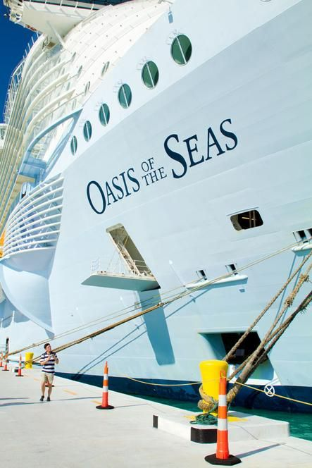 Welcome aboard Oasis of the Seas.