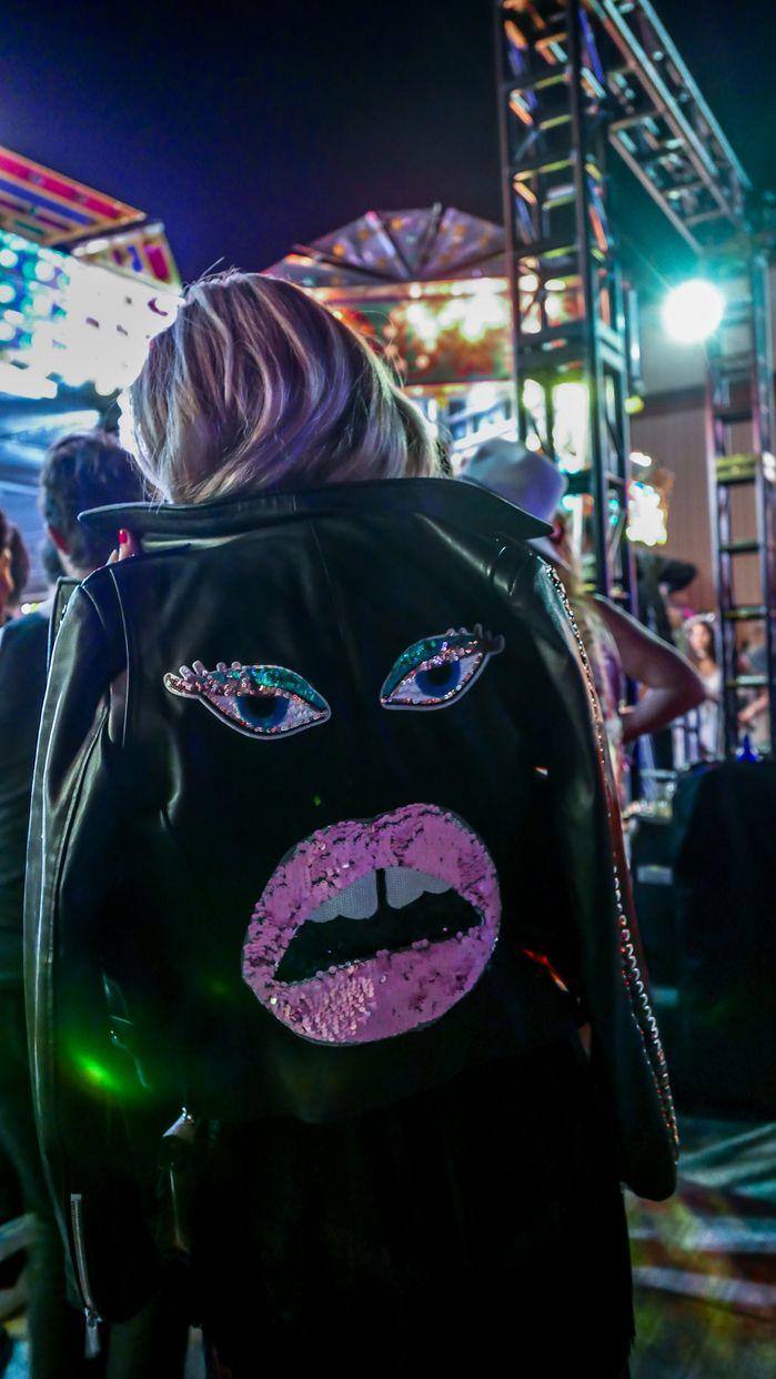 Custom leather jacket