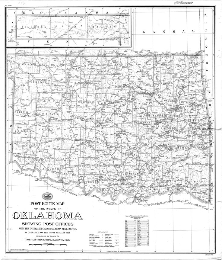Doug Dawgz Blog: Okc Street Map History
