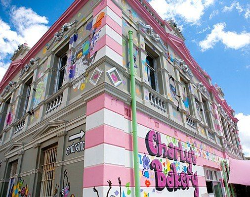 Charly's Bakery in Cape Town, South Africa