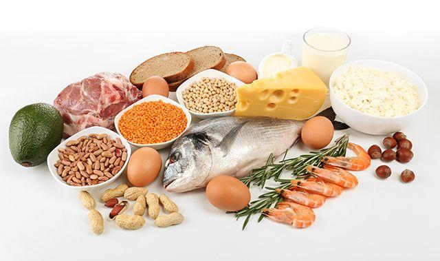Natuurlijke voedingsmiddelen met veel eiwitten