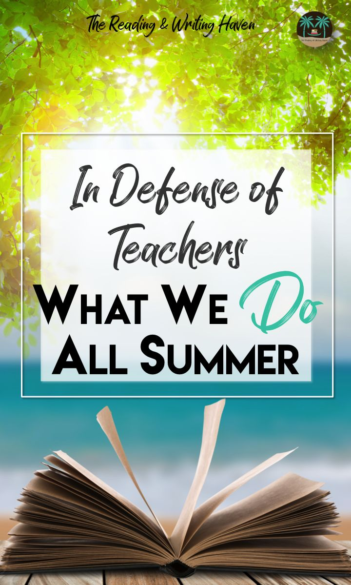 Teachers need inspiration during the summer months. We need to recharge our batteries. Still, we don't just sit around licking popsicles and watching television. So what DO teachers do all summer? In this collaborative blog post, 10 secondary teachers tell all. Lesson planning. Curriculum development. Professional development. More.